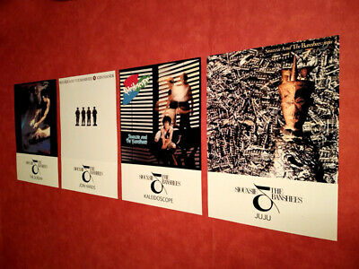 Siouxsie And The Banshees A3 Poster Prints Album Art 4 Set The Scream Join Hands • 16.99£