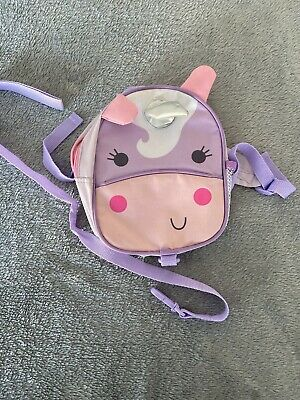 Unicorn Backpack With Reins Baby Toddler Harness Red Kite • 1£