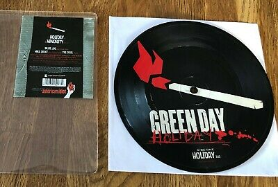 £38.51 • Buy GREEN DAY - Holiday 7  LIMITED PICTURE VINYL