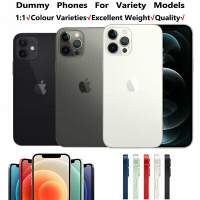 1:1 Non Working Dummy Model Display Fake Model For IPhone 12/Pro/12 Pro Max Mini • 10.99£