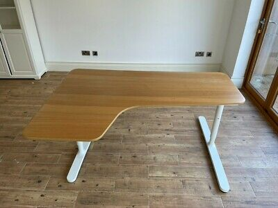 Ikea Bekant Office Desk. Used But Very Sturdy And Plenty Of Life Left In It. • 1.04£