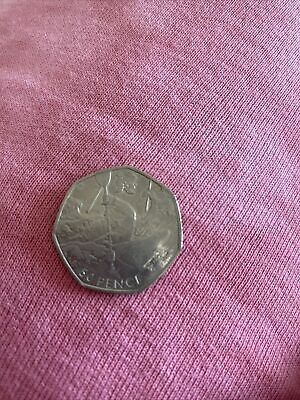 Olympic 50p Canoeing Fifty Pence Coin Circulated 2011 • 1£