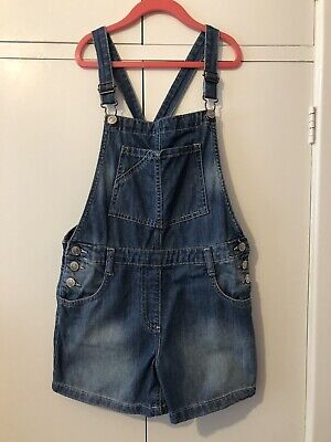 Girls Next Dungaree Shorts Age 10 • 2.50£