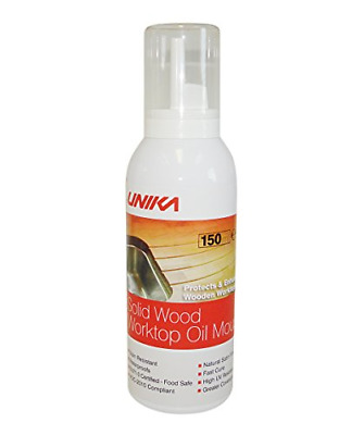 Unika Solid Wood Worktop Oil Mousse • 17.90£