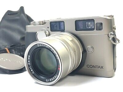 $ CDN1658.86 • Buy [Near Mint READ] Contax G2 Film Camera Body + Lens Sonnar T 90mm F2.8 JAPAN