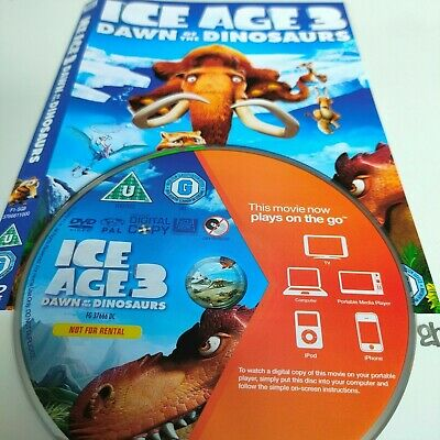 Ice Age 3 - Dawn Of The Dinosaurs DVD No Case • 1.65£