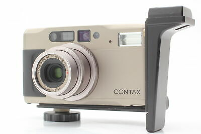$ CDN531.71 • Buy 【Exc+5】 Contax TVS II 35mm Point & Shoot Film Camera Grip W/ SA-1 From JAPAN