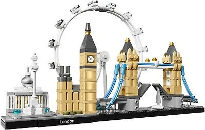 LEGO Architecture 21034 - London Skyline (The Eye, Big Ben, Tower Bridge) 2017+ • 44.95£