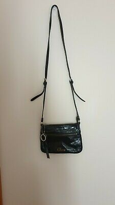AU55 • Buy Oroton Black Leather Crossbody Bag