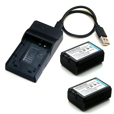 AU18.98 • Buy Battery / USB Charger For Sony Alpha A3000 A5000 A5100 A6000 A6100 A6300 A6400