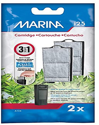 Marina I25 Filter Replacement Cartridge Provides Effective Filtration. Pack Of 2 • 4.02£
