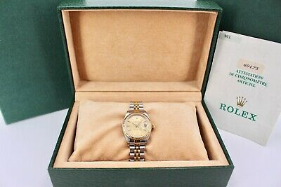 $ CDN6779.25 • Buy Rolex Lady-Datejust 69173 Box And Papers 1987