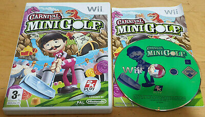 CARNIVAL GAMES MINI GOLF For NINTENDO Wii COMPLETE • 7.99£