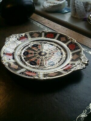 ROYAL CROWN DERBY 1128 Old Imari  Plate  EXCELLENT USED  CONDITION • 72£