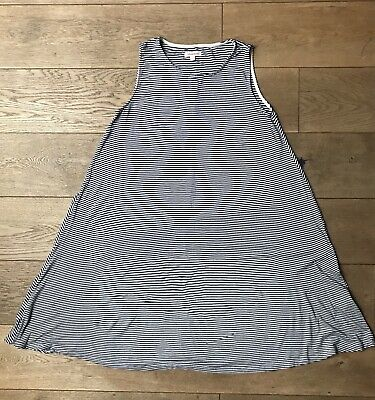 Girls Blue Zoo By Debenhams - Navy & White Stripe Dress Age:12-13 (Used GC) • 1.99£