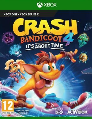 Crash Bandicoot 4: It's About Time (Xbox One) • 35.99£