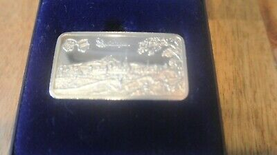 1oz 999 Fine Silver Ingot , Rare , Boxed , German ? • 35£
