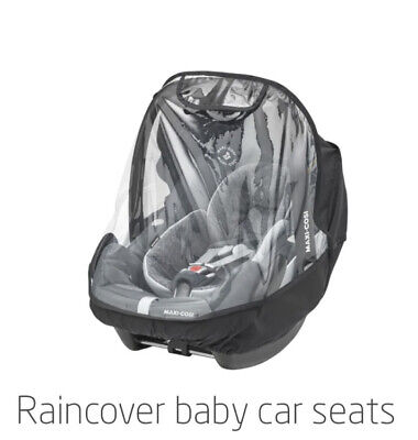 Maxi-Cosi Raincover For Baby Car Seat, Transparent, 213 G • 10£