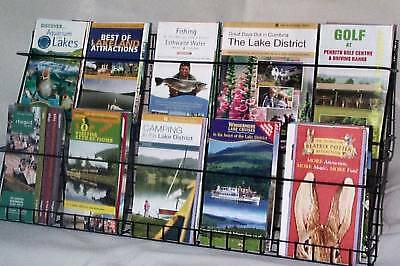 £32 • Buy 2Tier Trade Retail LEAFLET Greeting CARD Wall Counter DISPLAY STAND Holder Shop
