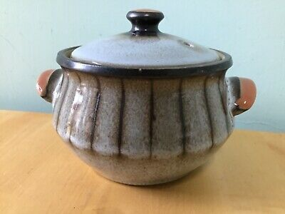 Denby Studio Grey Half Pint Lidded Soup/ Small Casserole Dish In Mint Condition • 5£