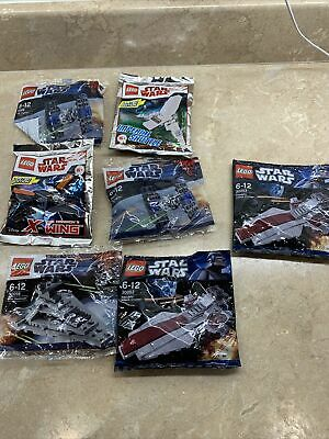 Lego Star Wars 7 New & Sealed Sets X-Wing Tie Fighter Star Destroyer Imperial • 3.20£