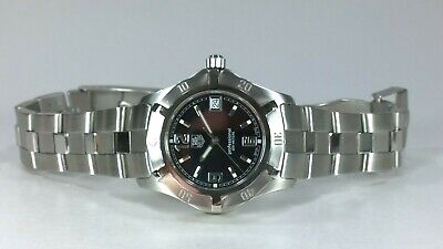 TAG Heuer 2000 Exclusive Gents Quartz Watch Black Dial With Date & Boxes & Books • 485£