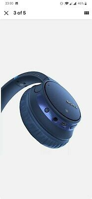 Sony WH-CH700N Wireless Bluetooth Noise Cancelling Headphones - Blue • 55£