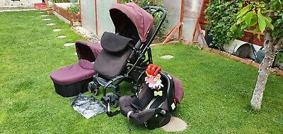 Limited Graco EVO Travel System + EXTRAS !!! • 90£