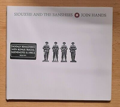 Siouxsie And The Banshees - Join Hands [Digipak CD With Bonus Tracks] • 4.99£