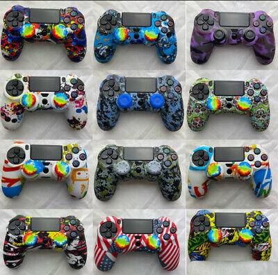 AU8.11 • Buy PS4 Silicone Controller Case Camouflage Skin Cover For PlayStation 4 /Slim/ Pro⚡