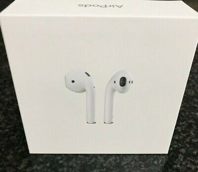 AU107.50 • Buy Apple AirPods 2nd Generation With Charging Case - White