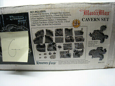 $ CDN506.27 • Buy Dwarven Forge Master Maze MM-015 Cavern Set Cave Vintage Resin D&D Tiles NEW