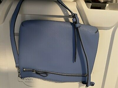 AU59 • Buy Oroton Crossbody Bag, Only Used Once Blue Leather