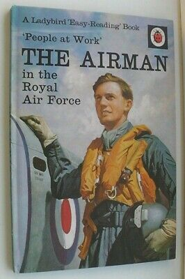 Ladybird Book,The Airman,People At Work,Series 606B • 6.99£