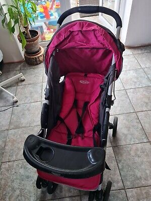 Graco Travel System In Hot Pink And Grey  • 5£