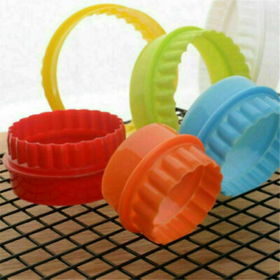 £4.99 • Buy  Cookie Scone Cutters Twin Edge Crinkle Round Cake Pastry Bake Mould Set