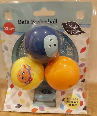 In The Night Garden Iggle Piggle Upsy Daisy Bath Basketball Set 12months+ NEW • 6.99£