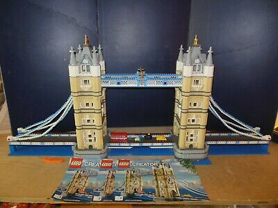 LEGO 10214 Creator Expert Tower Bridge 100% With Manuals • 178.81£