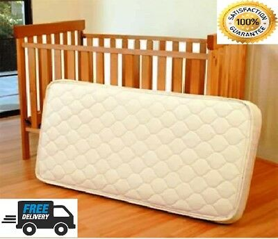 £24.85 • Buy BABY COT BED TODDLER QUILTED MATTRESS WATERPROOF BREATHABLE 140 X 70 X 10 CM