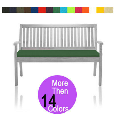 AU36.25 • Buy Garden Bench Cushion 2 Seater Outdoor Patio Furniture Pads Waterproof 6cm Thick