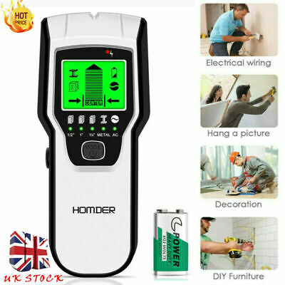 £17.84 • Buy 5 In1Metal Wood StudsElectric Detector AC Voltage Live Wire Detect Wall Scanner