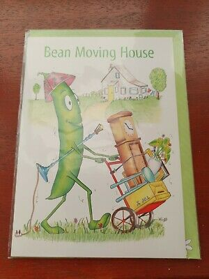 Funny NEW HOME Card BEAN MOVING HOUSE Greetings Card New House Card Happy Home • 2.99£
