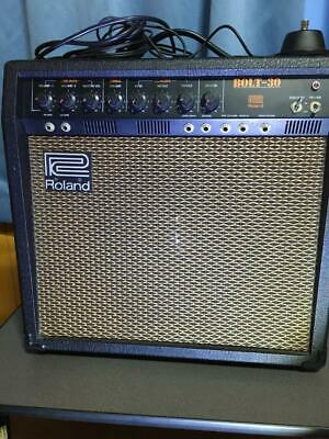 AU731.37 • Buy ROLAND BOLT-30 Guitar Amplifier Rare Vintage Used Good Working
