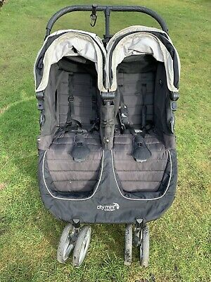 Baby Jogger City Mini Double Pushchair - Black • 29.99£