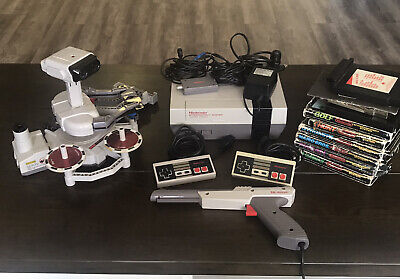 AU599 • Buy RARE NES Original Bundle With ROB The Robot