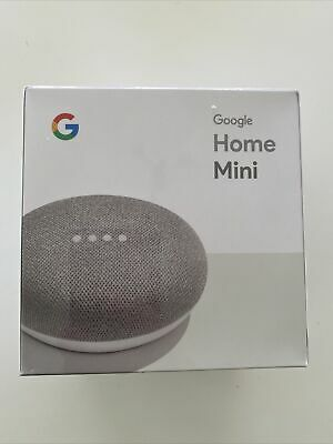 AU25.50 • Buy NEW Google Home Mini Smart Assistant & Speaker (Chalk) Sealed In Box