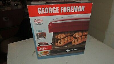 George Foreman 4 Serving Removable Plate Electric Indoor Grill Panini Press  • 14.15£