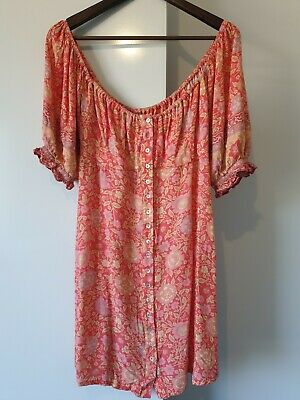 AU180.76 • Buy Spell And The Gypsy Love Story Mini Dress BNWT SIZE M
