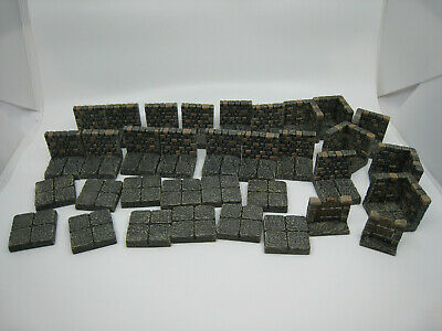 $ CDN101.15 • Buy Dwarven Forge Dwarvenite Painted Classic Dungeon D&D Tiles Core Set