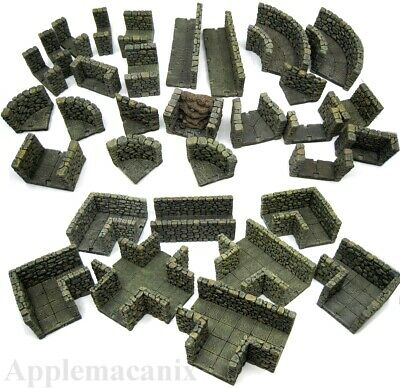 $ CDN506.27 • Buy Dwarven Forge Master Maze Room Passage Classic Resin D&D Dungeon Stone Tiles